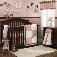 Create an enchanting oasis for your little princess with the CoCaLo Baby Daniella 9-Piece Crib Set.  The CoCaLoBaby Daniella Crib Set is made of elegant fabrics, including an embroidered organza, taffeta and crinkled voile enhanced by a lovely floral print. The CoCaLo Baby Daniella 9-Piece Crib Set features beautiful, romantic colors (mauve, cream and accents of brown), will add a calm and peaceful tone to the nursery of your tiny treasure. Poly-Cotton. Machine wash.    1st option for a…