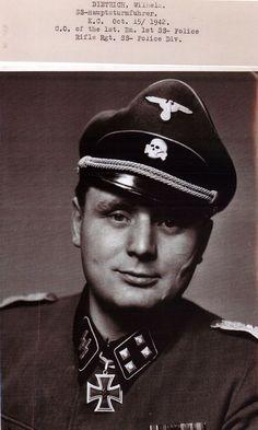 Hauptsturmführer Wilhelm Dietrich.
