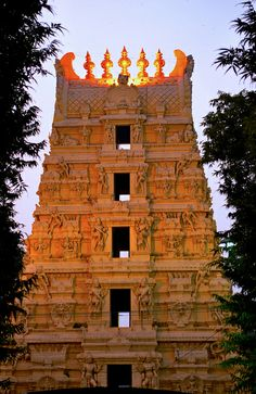 Srisailam Shiva Temple , India