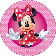 Oblatenpapier ist perfekt für trockene Kuchen und Brot zum mitbacken. Dieses Oblatenpapier Premium ist so dick, wie unsere Standard Oblaten. Daher ist es perfekt geeignet für alle Fondant Untergründe. Durch die Stärke des Oblatenpapiers ist es noch sehr brüchig und wirkt sehr hochwertig. Optimal Minnie Mouse Party, Minnie Mouse Pink, Mouse Parties, Mickey E Minie, Minnie Png, Disney Cartoon Characters, Disney Cartoons, Cupcakes Mickey, Wallpaper Do Mickey Mouse