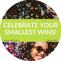 Celebrate your smallest wins! #celebrate #win #habits #health #wellness