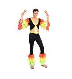 Disfraz de Rumbero Salsa para hombre