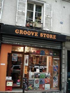 Groove Store, Paris