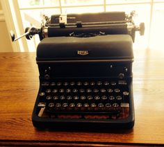 Antique Royal Typewriter in Excellent Condition  by DixieDownHome