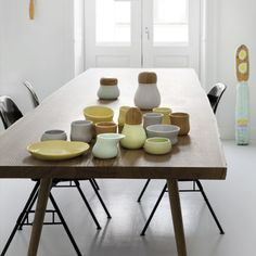 Mano Collection designed by jeanette List Amstrup. Jeanette List Amstrup graduated from the Danish Design School in Since then she has operated her own workshop and has worked for Royal Copenhagen and Höganäs Keramik, among others.