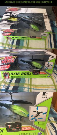 Air Hogs Axis 300x High Performance Green Helicopter NIB #tech #racing #shopping #drone #parts #products #hogs #plans #camera #fpv #kit #technology #air #gadgets #300x
