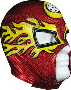Add some spunk to a promotional campaign with this unique piece. This wrestling mask takes its inspiration from those worn by Mexican professional wrestlers. A fun team item! kChida, asi/63757, 708-613-5132.