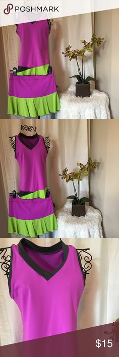 Tennis skirt and top Tennis skirt and top.  Worn one time and in excellent condition.  Top is small and skirt is medium.  Pet free smoke free Other
