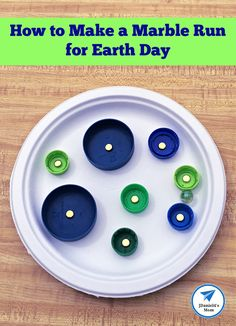 How to Make a Marble Run for Earth Day - JDaniel4s Mom Preschool Science Activities, Steam Activities, Activities For Kids, Early Learning, Kids Learning, Fun Moves, Stem Steam, Cool Science Experiments, Learn To Code