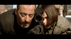 """Jean Reno & Natalie Portman; """"Leon; the Professional"""" - 1994 - Directed by Luc Besson"""