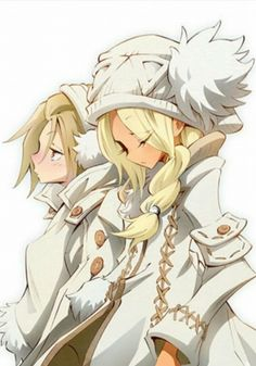 Shaman King Flowers - Hana & Alumi