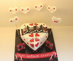 sevgiliye doğum günü pastası ile ilgili görsel sonucu