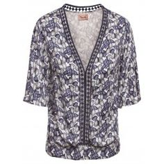 Blusa Est Floral Deco