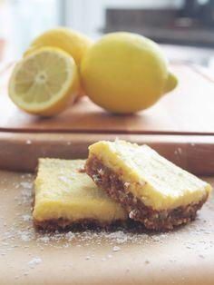 Easy Lemon Bars, Gluten & Dairy Free