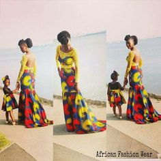 30 Parent And Child Ankara Outfits That Were Simply Breathtaking