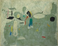Arshile Gorky, The Limit , 1947 x 62 in. Arshile Gorky was born Vostanik Manoug Adoian. He was an Armenian-America. Action Painting, Painting & Drawing, Mark Rothko, Modern Art, Contemporary Art, Mother Painting, Gagosian Gallery, Willem De Kooning, Wassily Kandinsky
