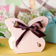 Butterfly Shaped Favor Boxes by Beau-coup