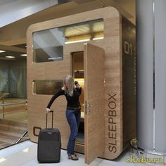 Sleepbox on Sheremetyevo