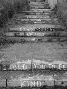 Steps, Quotes, Black and White Photography