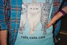 """makes me sing """"cat, cat, cats!"""" in the tune of """"SHOTS"""""""