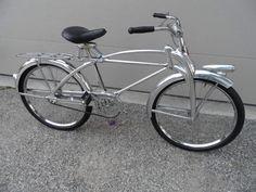 1937 Evinrude Streamflow aluminum bicycle
