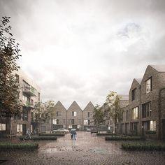 Forbes Massie / 3D Visualisation Studio / London - Work - Hawkins\Brown / Salter Road