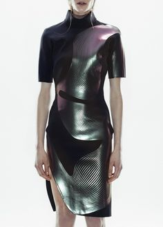 (Neoprene and layered aluminum?)  by dion-lee  pre-coll ss 2013