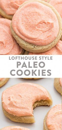 Paleo Cookie Recipe, Paleo Cookies, Paleo Recipes, Paleo Meals, Paleo Dessert, Healthy Sweets, Gluten Free Desserts, Healthy Food, Paleo Baking
