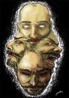 St. Anger - illustration by Davide Penna - Massoneria Creativa / Masonry - www.massoneriacreativa.com