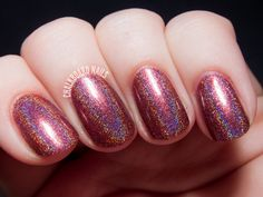 Girly Bits Swatches: Auld Langs Wyne, Lay Down With Number 13, and Off the Scale