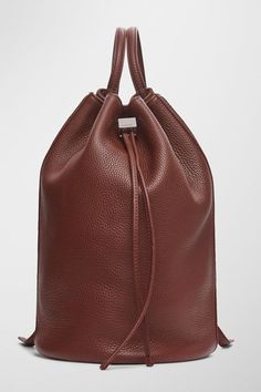 In case you didn't win the Mansur Gavriel lottery, this backpack gives you the look (and convenience) of a bucket bag.