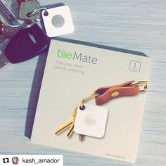 """Welcome to Tile! #Repost @kash_amador  My brother n sis-in-law decided to give me an early Christmas present right after The words """"I can't find my keys""""  came out of my mouth (for the 3rd maybe 4th time today.)   although this isn't one of my best qualities to flaunt  It's totally my fave type of gift the thoughtful kind. Thank you for paying attention to the bad/good details of me  and reminding me how annoying I can be when I lose stuff  love yous! @santi_121  @christopher42 now how many…"""