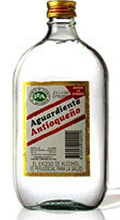 "Aguardiente or ""Firewater"", is a strong alcoholic drink made from anise and sugar cane. Aguardiente Antioqueño is a traditional drink from the Andean region of Colombian Drinks, My Colombian Recipes, Colombian Cuisine, Strong Alcoholic Drinks, Tequila, Vodka, Spanish Dishes, Exotic Fruit, Latin Food"