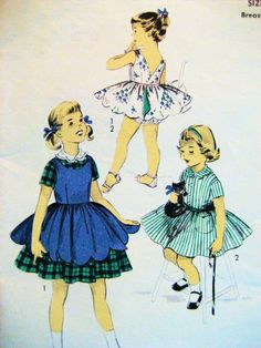 Advance 7754 Vintage 50s Pattern Darling Girls Size 6 Sun Dress by Simplicity Co,http://www.amazon.com/dp/B007M2NC54/ref=cm_sw_r_pi_dp_jIRatb0P0K6J5GYF