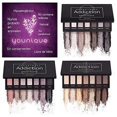 Paleta de sombras Younique #youniquebelleza https://www.youniqueproducts.com/laurarluna/products/view/US-21003-00#.VoC5i3o76rU