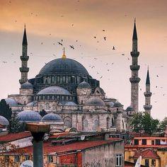 '' Sultan Ahmet Mosque/Blue Mosque '' photo by @aditzt  #comeseeturkey #turkiyeodalarveborsalarbirligi #theunionofchambersandcommodityexchangesofturkey #tccumhurbaskanligi #tobb #Padgram
