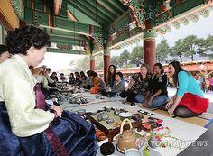 2012 강릉ICCN세계무형문화축전 - 외국인들의 한국전통차 체험