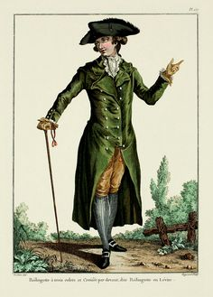 EKDuncan - My Fanciful Muse: Fashion for Men during the time of Marie Antoinette; 1781