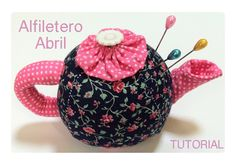 Alicia's hiding place: pincushion APRIL - TUTORIAL