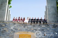 Catherine & Michael | Photo credit: Skyryder Photography | War Memorial Chapel