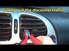 (4) Broken Air Vent Quick Fix (Xsara Picasso) - YouTube