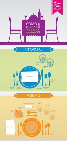 Let & cia Dining Etiquette, Etiquette And Manners, Table Manners, Personal Organizer, Napkin Folding, Dinner Table, Dining Room Table, Home Organization, Good To Know