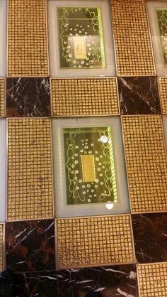 Gold bars floor finish