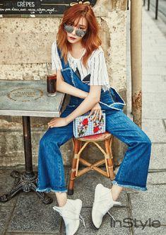 Tiffany @ InStyle Korea April Issue。