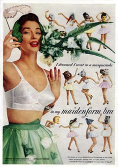 What an odd #retro #bra ad...www.mibralady.com