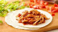 3-Ingredient Slow-Cooker Shredded Mexican Chicken