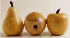Making Wooden Fruit