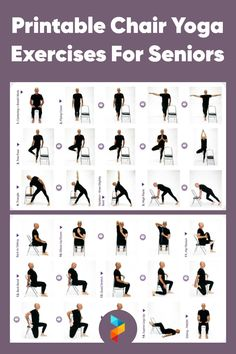 Health And Fitness Articles, Fitness Tips, Health Fitness, Chair Exercises, Yoga Exercises, Balance Exercises, Yoga For Seniors, Exercises For Seniors, Physical Fitness