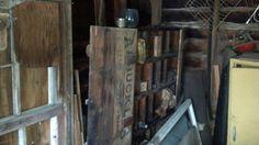 Inside of abandoned homestead