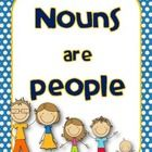 This is a freebie four pack of posters for teaching nouns. I used these in my room as a starter for introducing nouns. ...